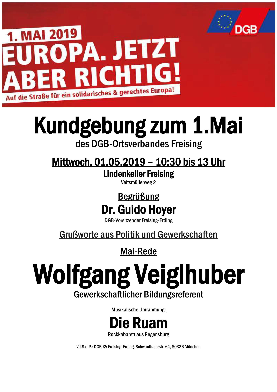 Plakat Freising