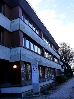Ausweichquartier der Münchner Gewerkschaften in Berg am Laim