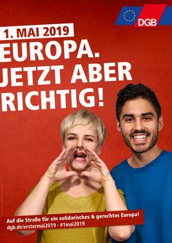 1. Mai 2019 Europa. Jetzt aber richtig!