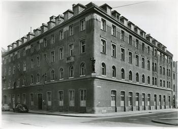 Das Gewerkschaftshaus in der Landwehrstraße.