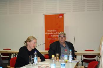 Simone Burger und Dr. Marcus Strohmeier