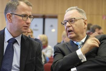 Hans-Jürgen Papier und Friedrich Kühn