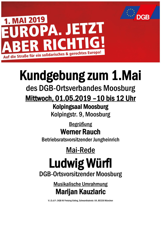 Plakat Moosburg