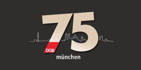 Logo 75 Jahre DGB München