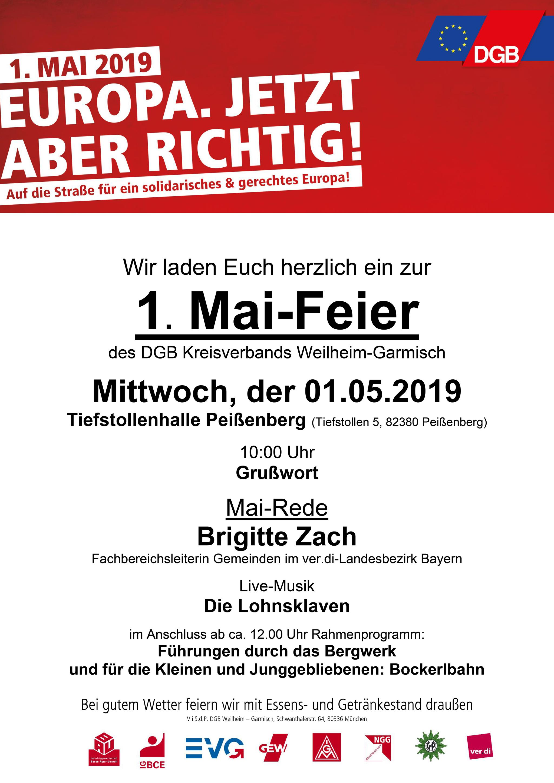 Plakat Peißenberg