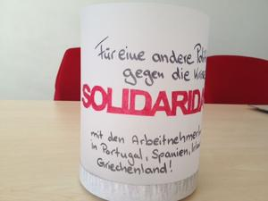 Soliadritätslaterne 2