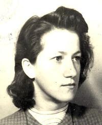 Elisabeth Dietl ca. 1946. Sie arbeitete nach 1945 am Wiederaufbau der Gewerkschaften mit und war später für die Gewerkschaft NGG tätig.