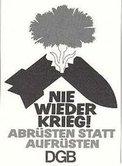 Plakat Antikriegstag 1957