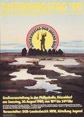 Plakat Antikriegstag 1980