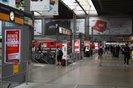 Rentenaktion am Münchner Hauptbahnhof